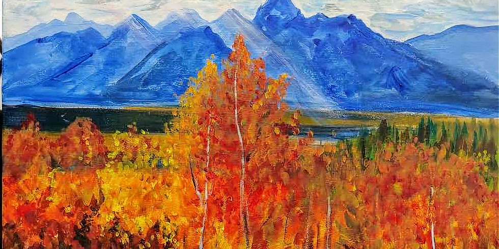 """""""Fall in the Tetons"""" @ Online Interactive"""