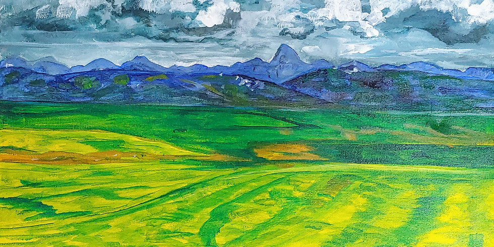 """""""Rolling Fields"""" @ TRIBE Artist Collective"""
