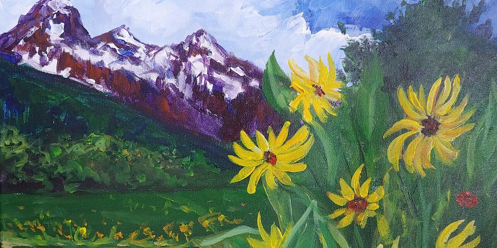 """Teton Wildflowers"" Online Interactive"