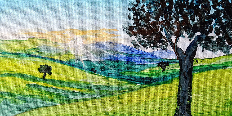 """""""Rolling Hills Countryside"""" @ Online Interactive"""