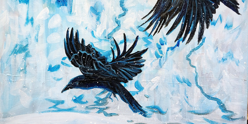 """Winter Ravens"" @ Rendezvous Bistro"