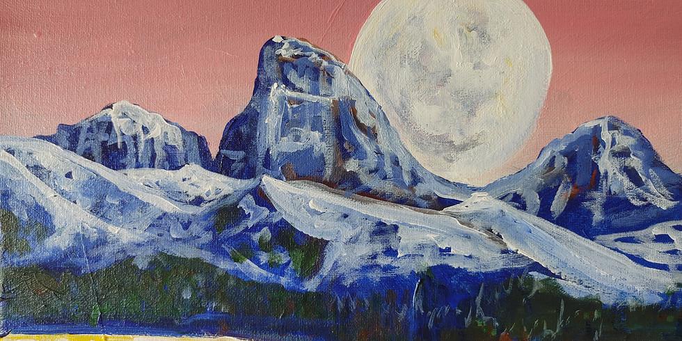 """Full Moon Rising"" @ Online Interactive"