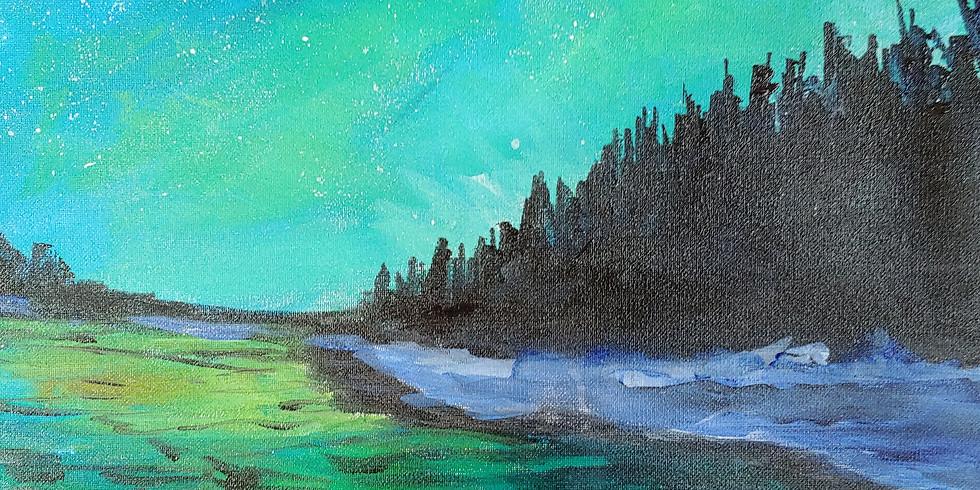 """Northern Lights"" @ Online Interactive Class"