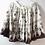 Thumbnail: Brown and White Bohemian Print Mini Ruffle Skirt