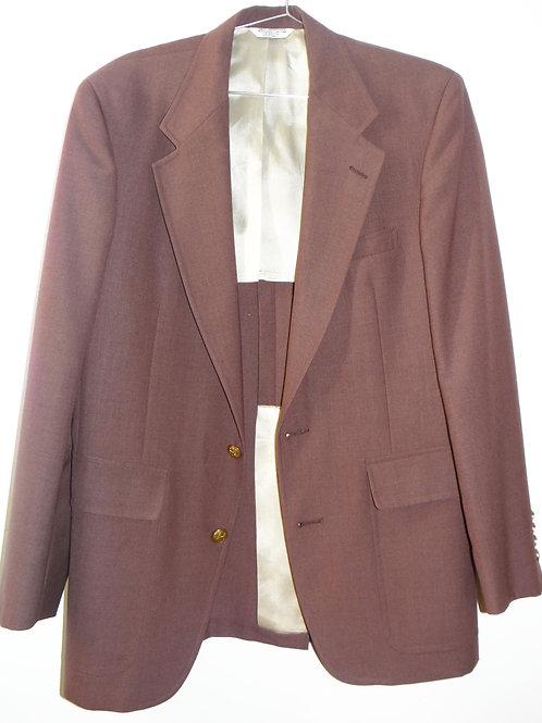 Dusty Rose Power Suit Jacket