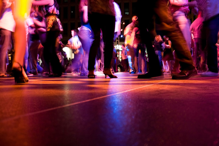 A little dancing