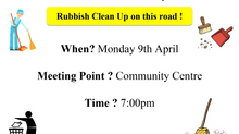 Ballintotis Area Community Council Rubbish Cleanup