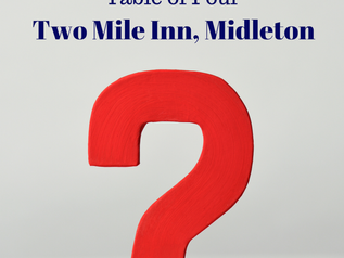 Table Quiz at Two Mile Inn on February 1st