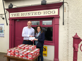 Hunted Hog Race Sponsorship