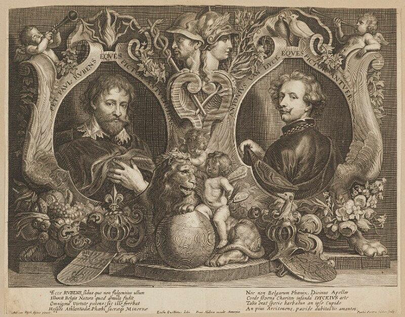 Peter Paul Rubens and Van Dyck in London