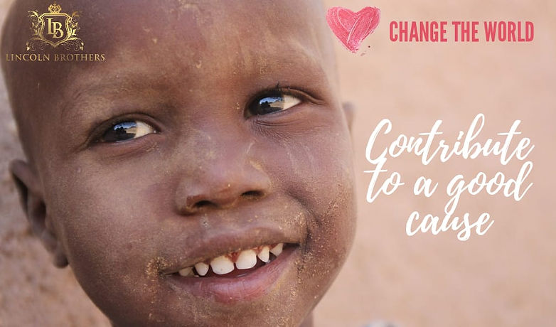 Donate change the world campaign lincoln brothers to offer free months