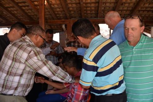 Ordination of Pastor Luis