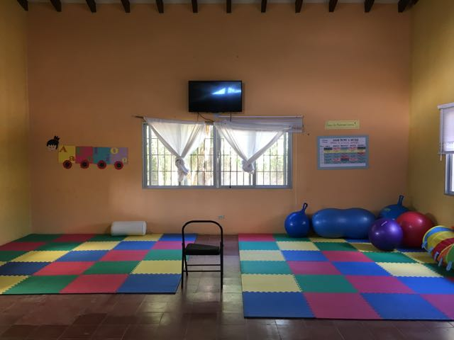 Prepace's therapy room
