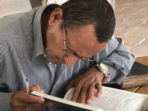 Pastor Marciel - he passed away in October 2019