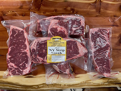 Angus New York Strip Steak - Bundle Deal, Buy 9 Get your 10th one FREE