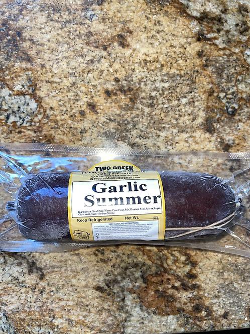 Summer Sausage - Garlic