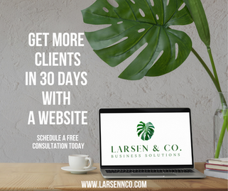 Get more clients in 30 days with a websi
