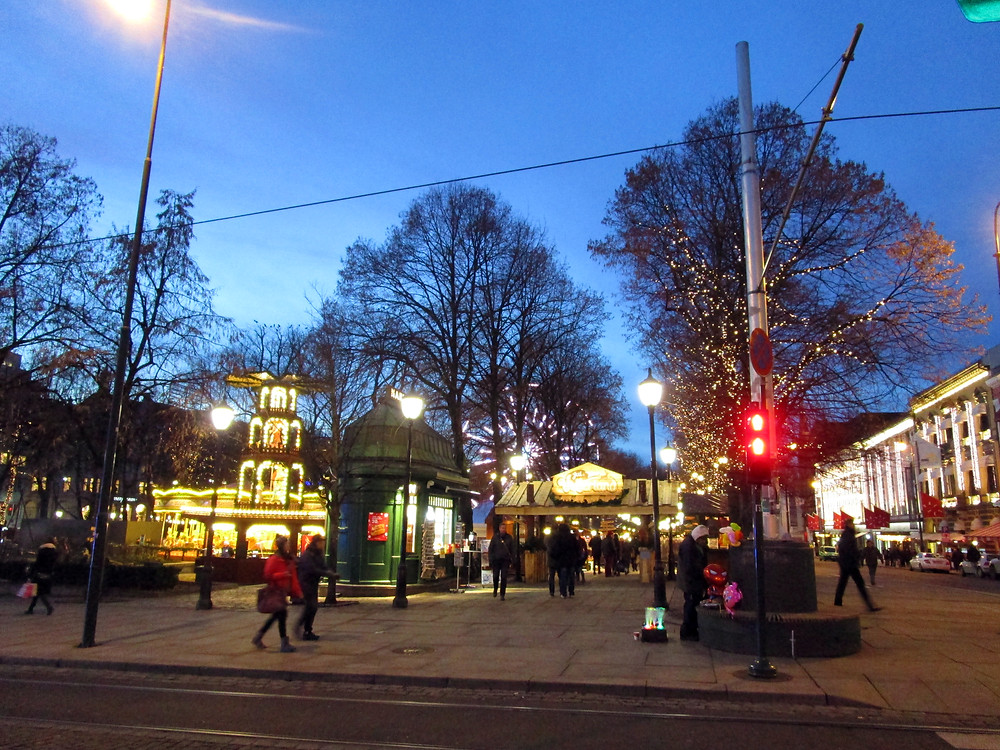 View of the Christmas Market