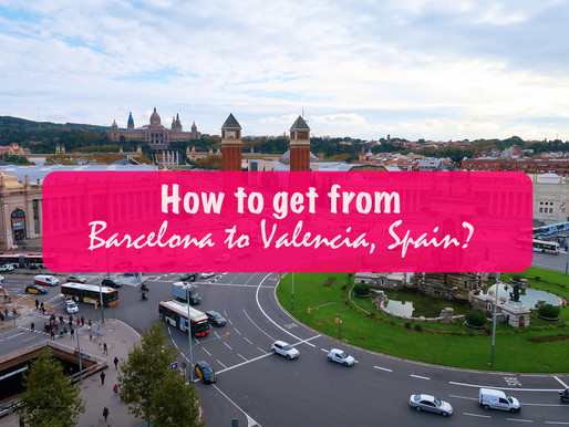 How to get from Barcelona to Valencia, Spain?