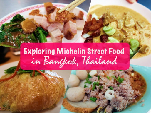 Exploring Michelin Street Food in Bangkok, Thailand