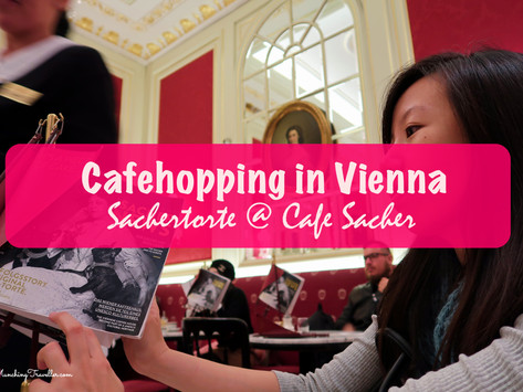 Cafehopping in Vienna: Eating Sachertorte at Cafe Sacher