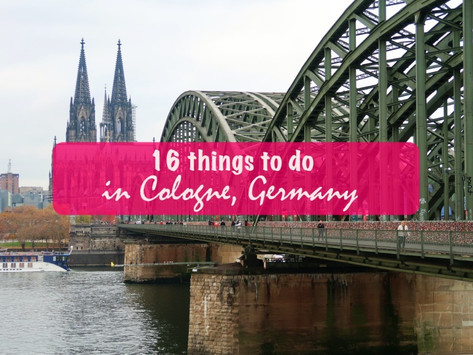 16 things to do in Cologne, Germany