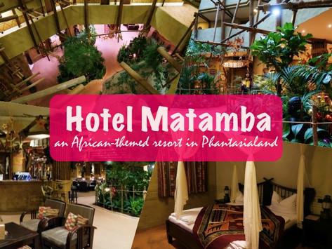 Hotel Matamba, an African-themed resort at Phantasialand, Bruhl