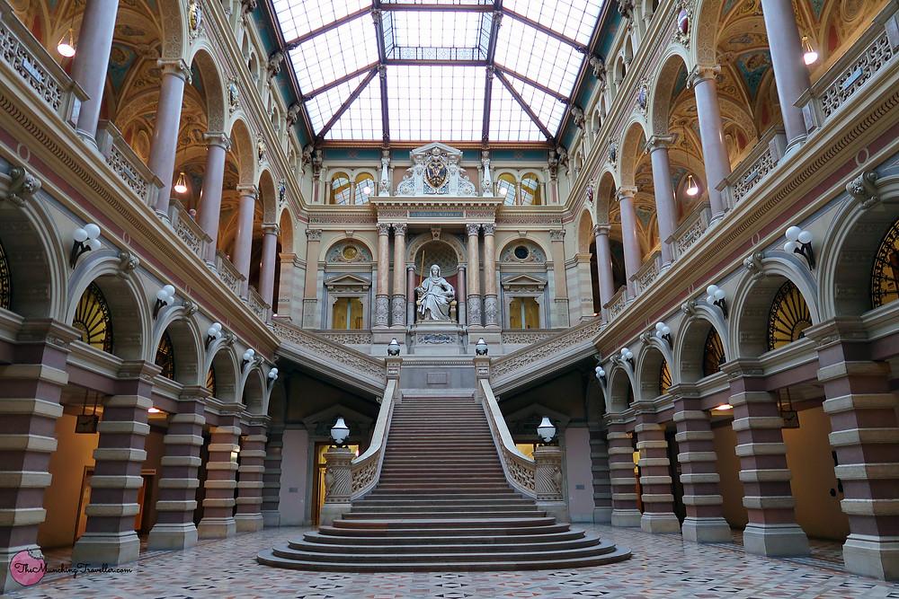 Palace of Justice, Vienna, Austria