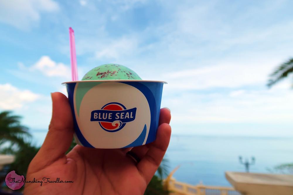 Blue Seal Ice Cream, Okinawa, Japan