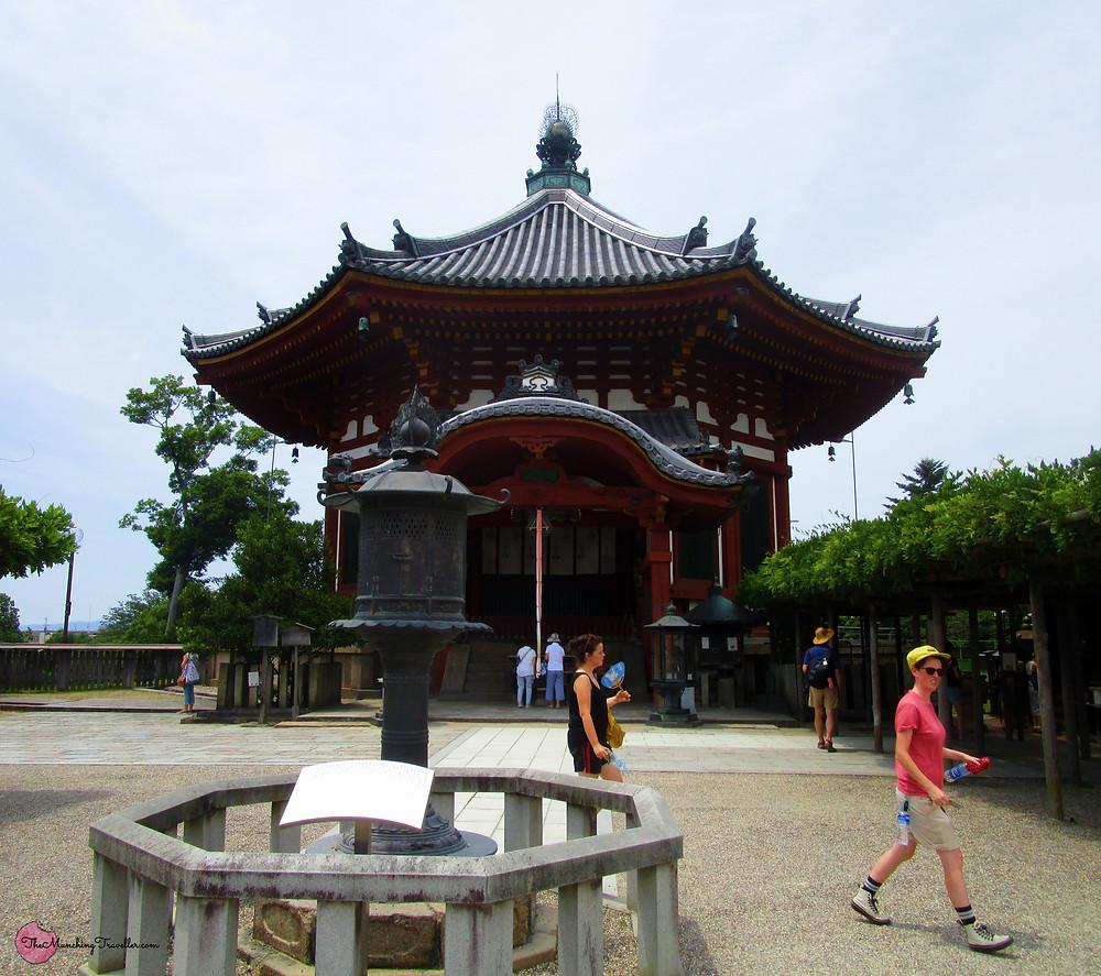 Octagonal Halls at Kofukuji Temple, Nara, Japan