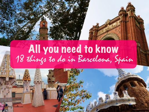 All you need to know: 18 things to do in Barcelona, Spain