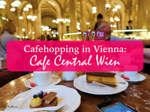 Cafehopping in Vienna: Cafe Central Wien