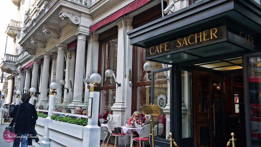 Cafe Sacher, Vienna, Austria