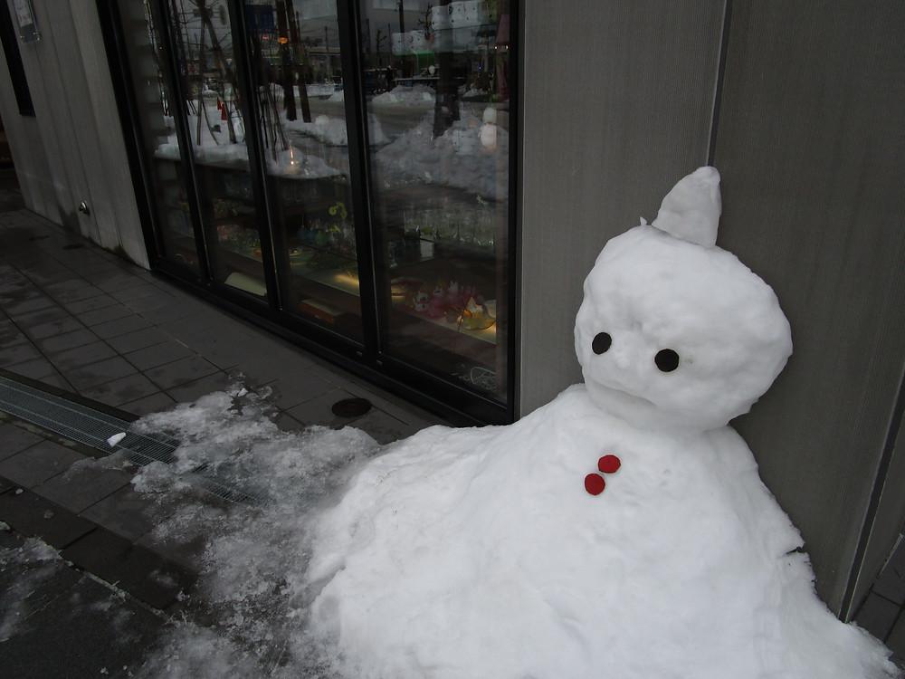 Snowman in Hokkaido