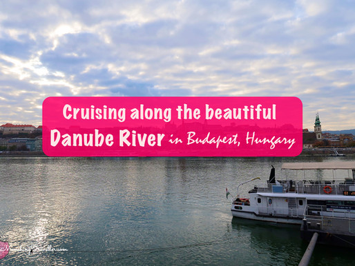 Cruising along the beautiful Danube River in Budapest, Hungary