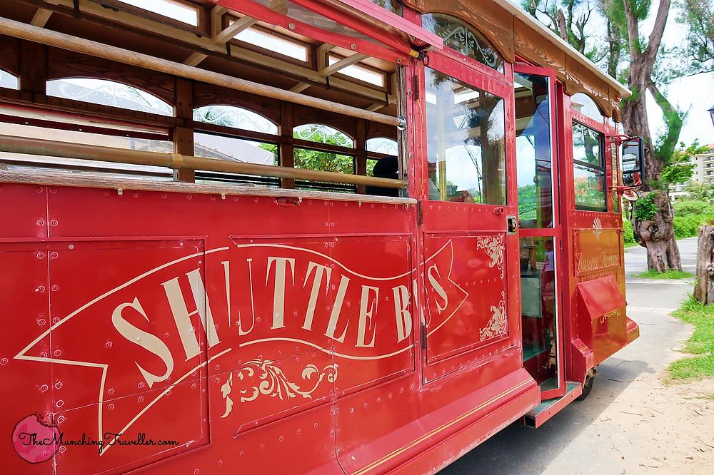 Busena Marine Park Shuttle Bus, Okinawa, Japan