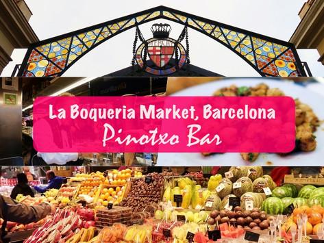 Pinotxo Bar in Barcelona's La Boqueria Market
