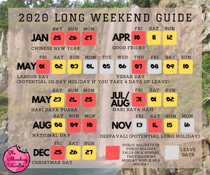 2020 Long Weekend Travel Guide and Inspiration