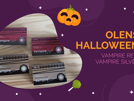 Olens Halloween - Vampire Red and Silver