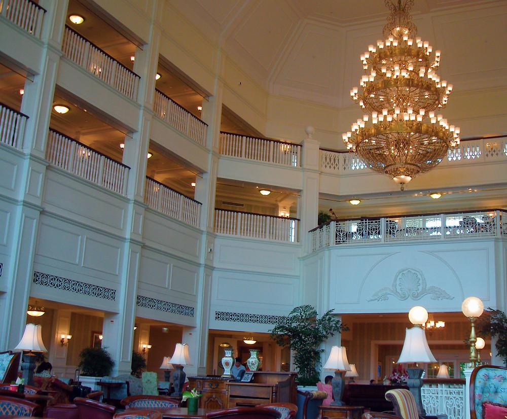 Hong Kong Disneyland Hotel Lobby