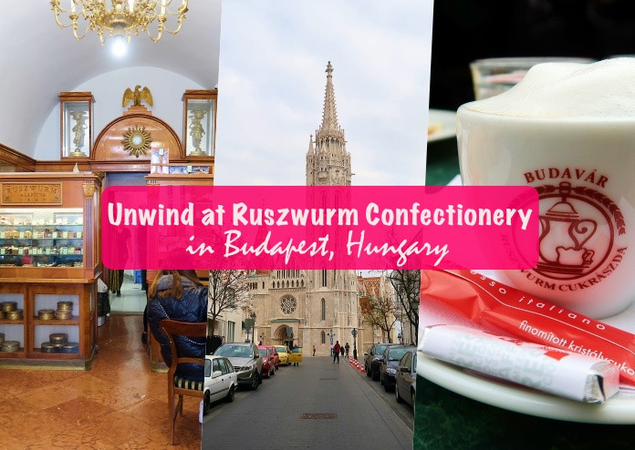 Ruszwurm Cukraszda (Ruszwurm Confectionery) in Budapest, Hungary
