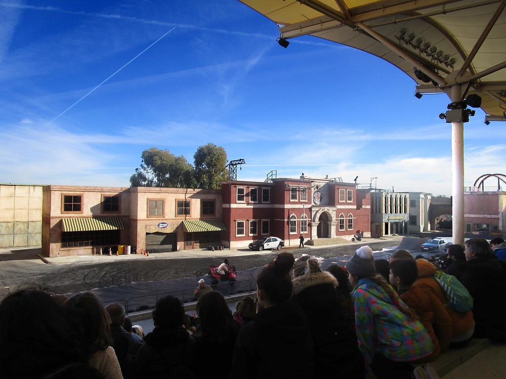 Police Academy Stunt Show, Parque Warner Madrid, Spain