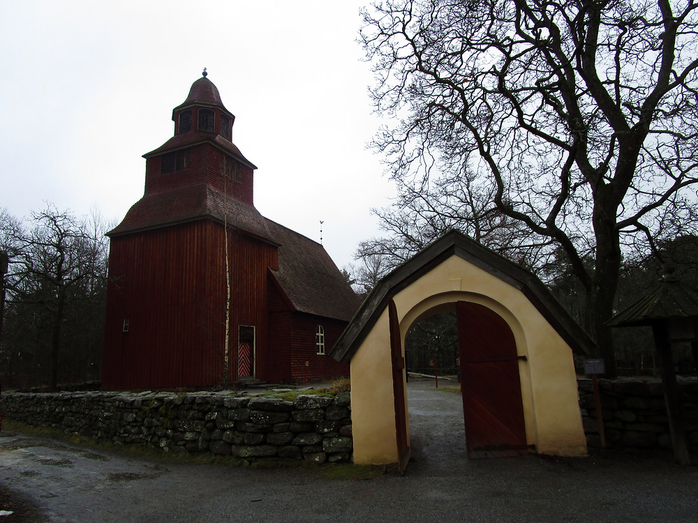 Farmhouses in Skansen