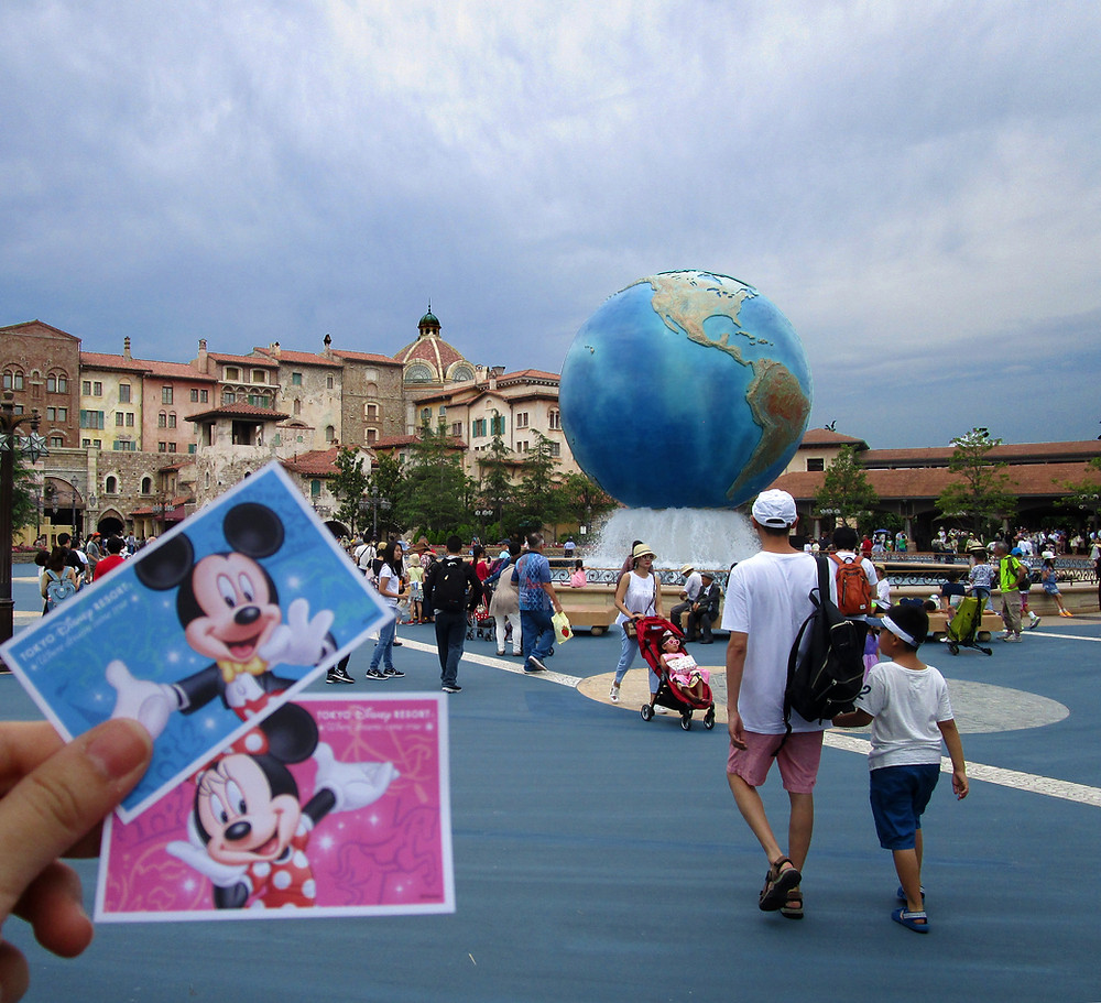 Tokyo Disney Sea Tickets at the Entrance