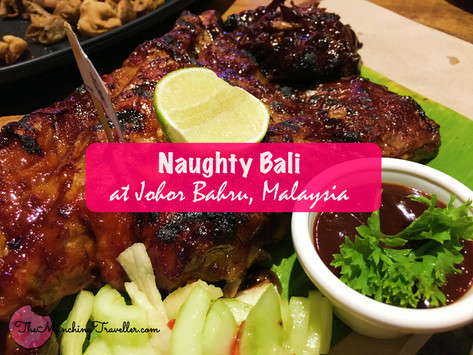 Get the best ribs in Johor Bahru at Naughty Bali!