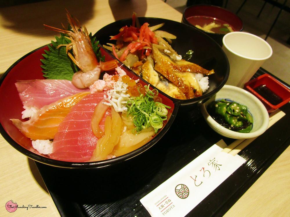 Umeda Sanbangai Food Hall, Osaka, Japan