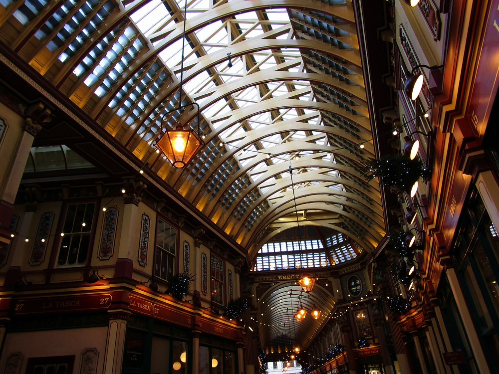 Leadenhall Market, London, United Kingdom