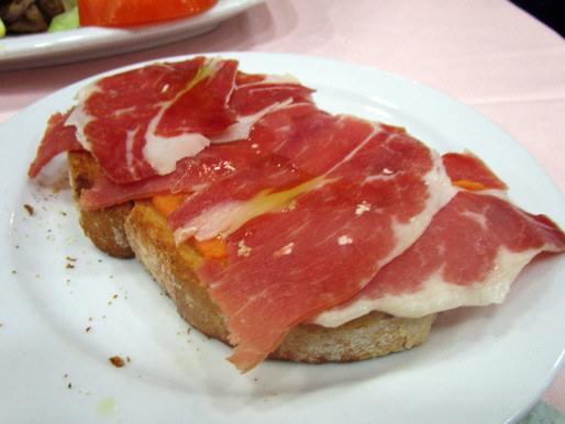 The best place for Spanish Jamón Ibérico in Madrid, Spain