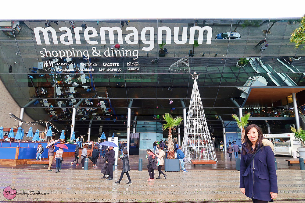 Maremagnum Shopping Mall, Barcelona, Spain