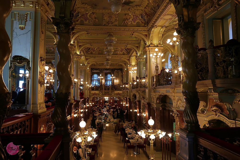 New York Palace Cafe in Budapest, Hungary?